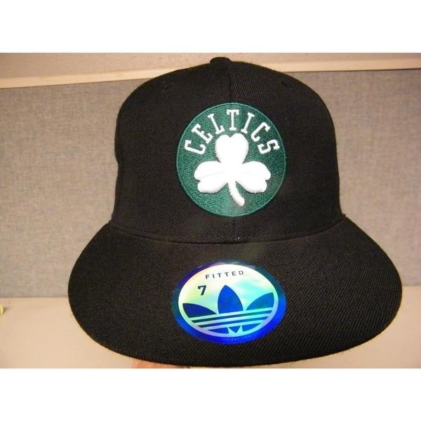 986f0ddd562 Shop Boston Celtics Mens Adult Unisex Flatbrim Size 7 Adidas Black Hat  28  - Free Shipping On Orders Over  45 - Overstock - 23065276