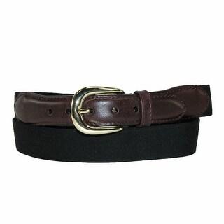 Rogers-Whitley Men's Cotton Elastic Stretch Belt