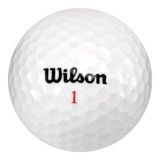 100 Wilson Mix - Near Mint (AAAA) Grade - Recycled (Used) Golf Balls