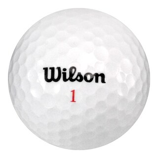 50 Wilson Mix - Value (AAA) Grade - Recycled (Used) Golf Balls