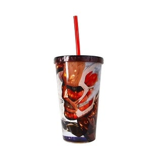 Link to Colossus Attack On Titan Travel Cup - Multi Similar Items in Glasses & Barware