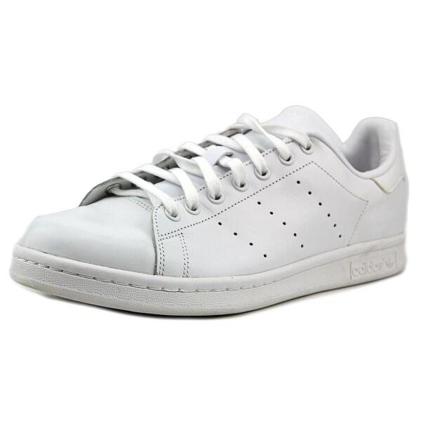 Adidas Stan Smith Men Round Toe Leather White Sneakers