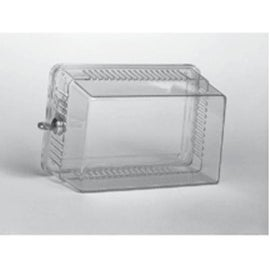 Lux BB3001-004 Large Locking Thermostat Guard, Clear