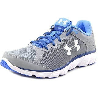 Under Armour Micro G Assert 6 Round Toe Synthetic Running Shoe