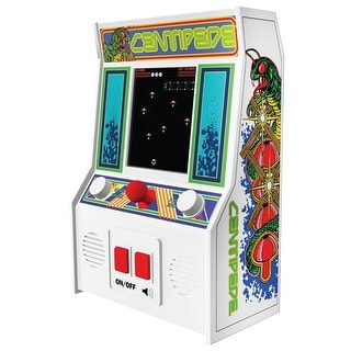 Retro Arcade Video Game Mini Console - Centipede - White