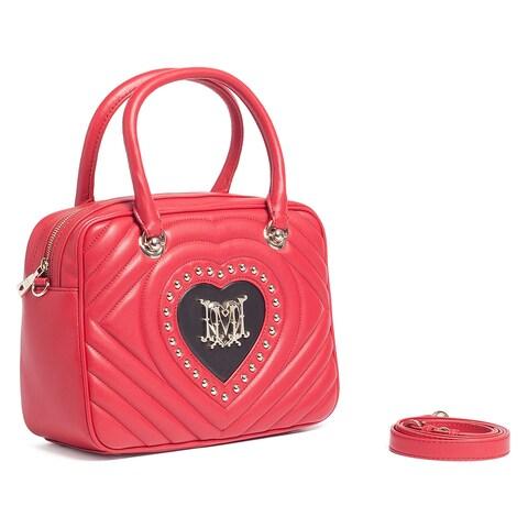 Moschino JC4039 150A Red/Black Satchel/Shoulder Bag - 12-8-5