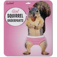 Mini Squirrel Underpants For Girls - Pink