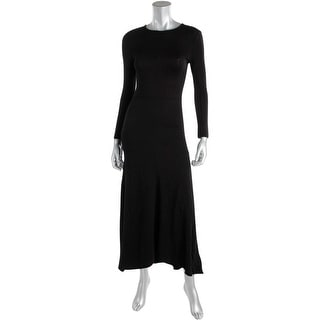French Connection Womens Textured Fit & Flare Maxi Dress