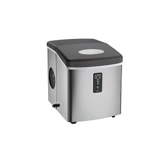 Igloo ICE103 Counter Top Ice Maker with Over-Sized Ice Bucket Manufacturer Refurbished