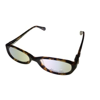 Kenneth Cole NY Mens Opthalmic Frame Rectangle Plastic Tortoise KC182 52 - Medium