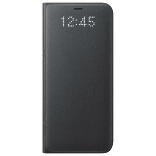 Samsung LED Wallet Cover for Samsung Galaxy S8 - Black LED Wallet Cover for Samsung Galaxy S8