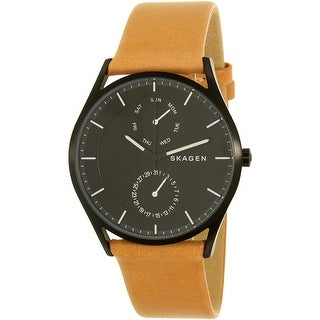 Skagen Men's Holst SKW6265 Tan Leather Quartz Fashion Watch