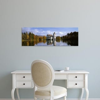 Easy Art Prints Panoramic Images's 'Anif Castle Austria' Premium Canvas Art