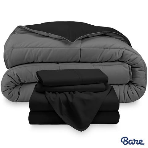 Bare Home Down Alternative Reversible Bed-in-a-Bag