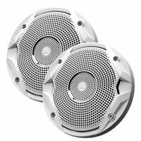 6.5 in. Dual Cone Marine Speakers - White