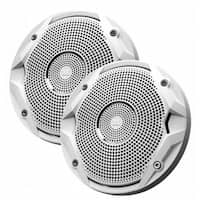 Jbl MS6510 6.5 in. Dual Cone Marine Speakers - White