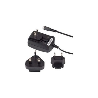 OEM Blackberry Micro USB World Travel Charger with Global Adapters Clips
