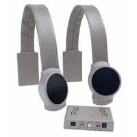 Audio Fox HC-AFTV-GR Gray TV Listening Speaker System