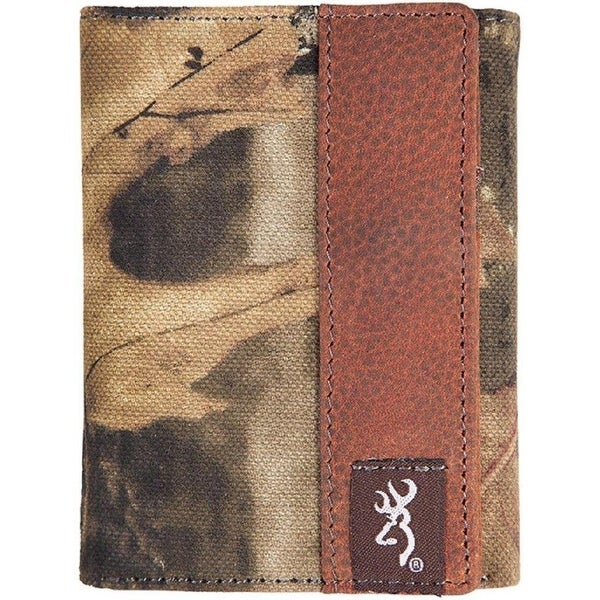 a7dc3b48c78f2 Shop Browning Buckmark Camo Tri-Fold Wallet Mossy Oak Break-up Leather -  Free Shipping On Orders Over  45 - Overstock - 23106069