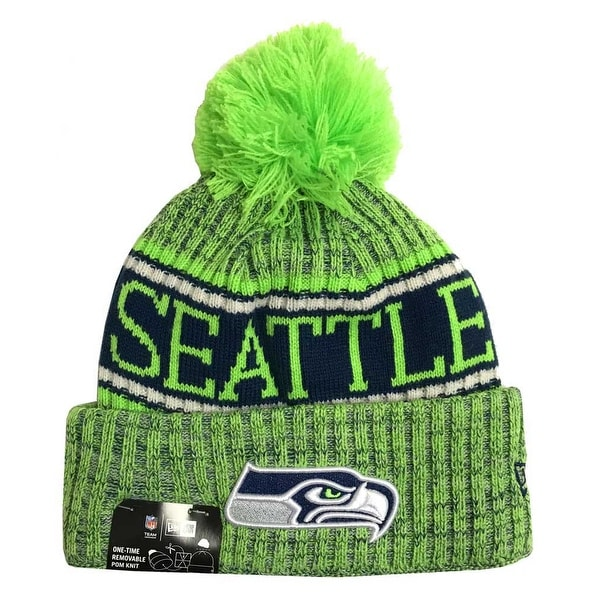 Shop New Era 2018 NFL Seattle Seahawks Reverse Sport Stocking Knit Hat  Winter Beanie - Free Shipping On Orders Over  45 - Overstock - 23042827 6eb415633