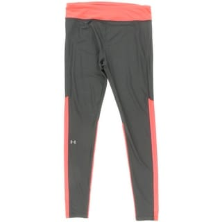 Under Armour Womens Seamed Colorblock Athletic Pants - L