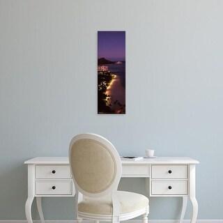 Easy Art Prints Panoramic Image 'Buildings at the waterfront, Honolulu, Oahu, Honolulu County, Hawaii, USA' Canvas Art