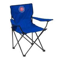 Chicago Cubs Quad Chair - Logo Chair