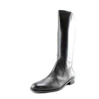 Walking Cradles Mate Women N/S Round Toe Leather Knee High Boot