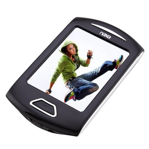 "Portable Media Player with 2.8"" Touch Screen, Built-in 8GB Flash Memory, Camera, PLL Digital FM Radio,"