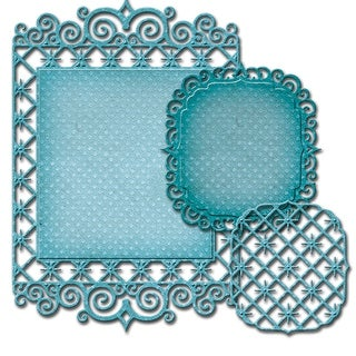 Spellbinders Nestabilities Decorative Elements Dies-Labels 47