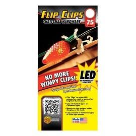 Commercial Christmas Hardware 1300050902 Lighting Flip Clip, Plastic