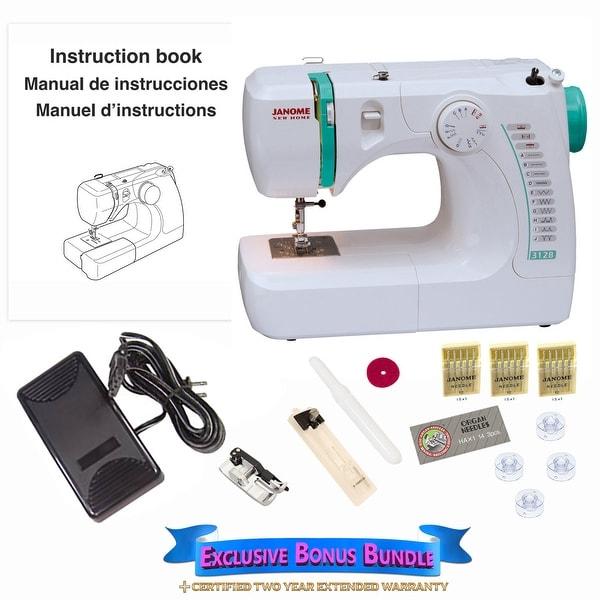 Janome 3128 Sewing Machine with Exclusive Bonus Bundle