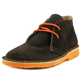 Eric Michael Crosby Women Round Toe Suede Brown Chukka Boot