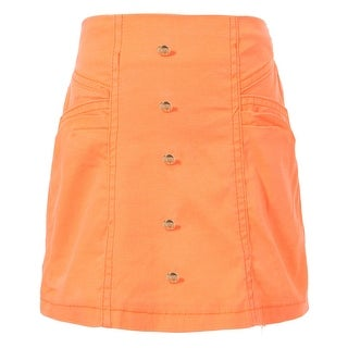 Richie House Girls' Sweet Skirt with Buttons