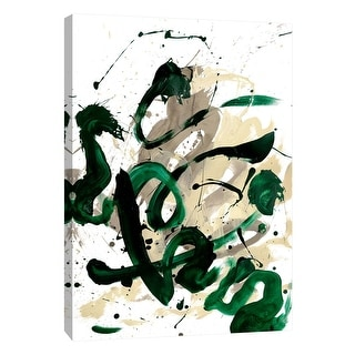 """PTM Images 9-108863  PTM Canvas Collection 10"""" x 8"""" - """"Flow 6"""" Giclee Abstract Art Print on Canvas"""