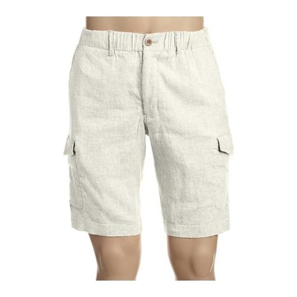 ff74ea16f4 Shop Tommy Bahama Men's Beach Linen Cargo Short Continental - Free Shipping  Today - Overstock - 20443759