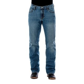 Cinch Western Denim Jeans Men Carter 2.0 Relaxed Light Wash