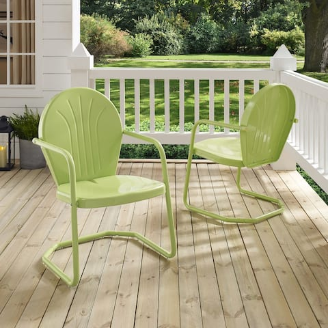 Griffith Metal Chair In Key Lime