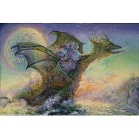 ''Dragon Ship'' by Josephine Wall Fantasy Art Print (24 x 36 in.)