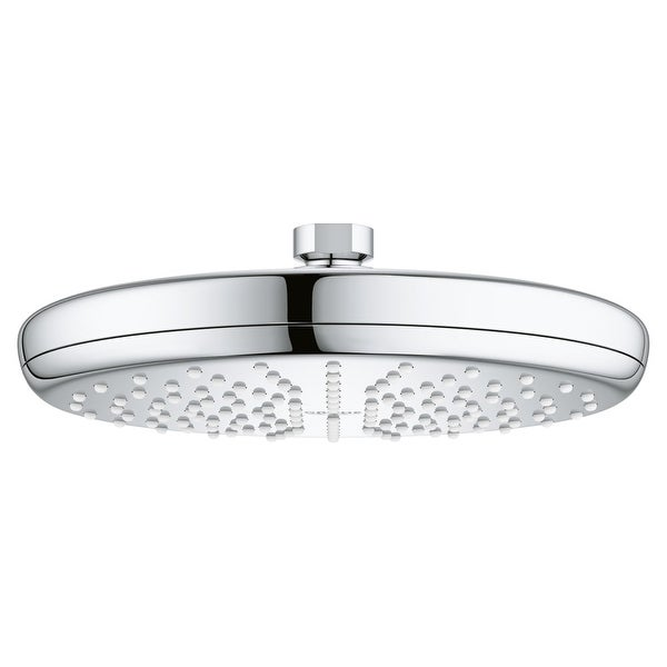 Grohe 26 410 Grohtherm 2.5 GPM Rain Shower Head with DreamSpray and SpeedClean