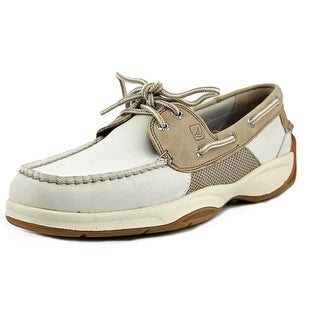 Sperry Top Sider Intrepid 2 Eye Moc Toe Leather Boat Shoe