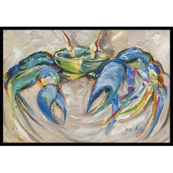 Carolines Treasures JMK1089MAT Blue Crab Indoor & Outdoor Mat 18 x 27 in.