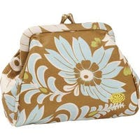Amy Butler Women's Mallory Coin Purse Turquoise Fern Flower - US Women's One Size (Size None)