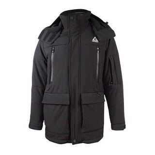 Gerry Men's Removable Hood Jacket - Black