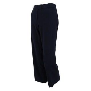 JM Collection Women's Curvier Fit Magic Dress Pants