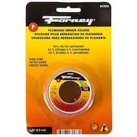 "Forney 61533 Lead Free Plumbing Repair Solid Solder, 1/8"", 4 oz."