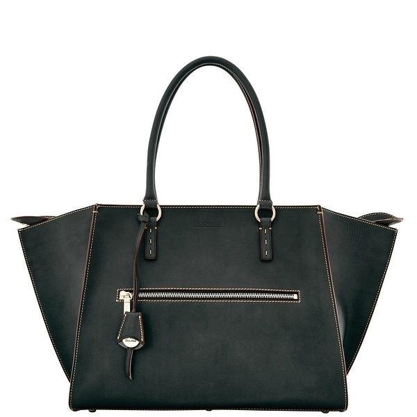 Dooney & Bourke Alto Silvia (Introduced by Dooney & Bourke at $750 in Aug 2015) - Black