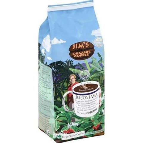 Jim's Organic Coffee - Jo Jo's Java Coffee Ground ( 6 - 12 OZ)