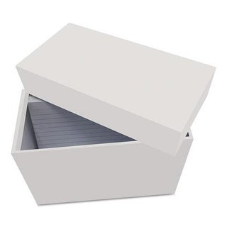 Universal Office Products 47280 3 x 5 in. Index Card Holder, Gray