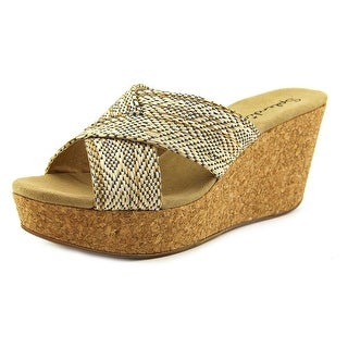 Splendid Goleta Open Toe Canvas Wedge Sandal
